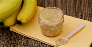 Homemade Banana Scrub