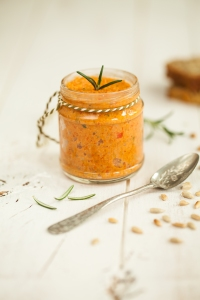 Roasted red pepper pate-1